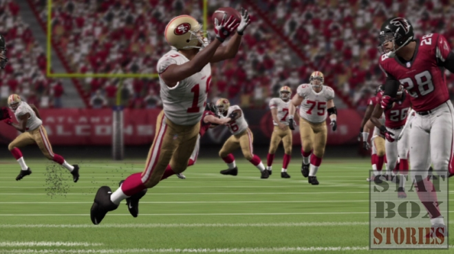 49ers Diving Catch
