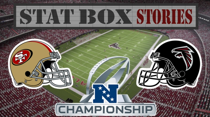 Stat Box Stories NFC Championship Header